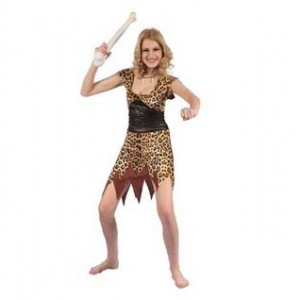 cave woman value costume