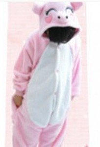 kids onesie piggy