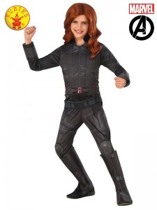BLACK WIDOW DELUXE COSTUME CHILD