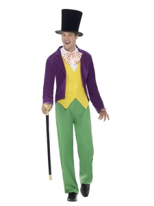 roald dahl willy wonka costume adults