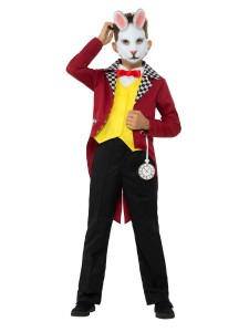 mr white rabbit costume with jacket