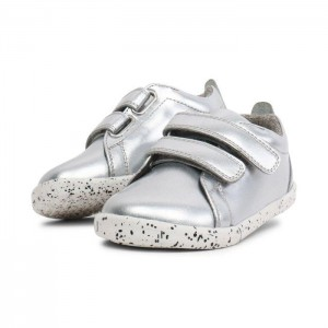 634901 Waterproof Grass Court Sneaker Silver