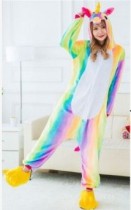 adult unicorn rainbow onesie