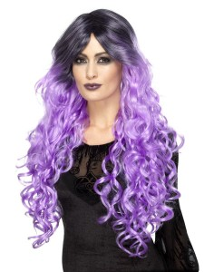 gothic glamour wig lilac purple 2000x