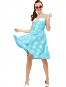 ADULT 50S PIN UP COSTUME