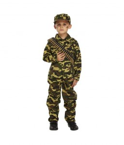 ARMY COSTUME KIDS