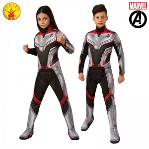 AVENGERS 4 DELUXE UNISEX TEAM SUIT CHILD