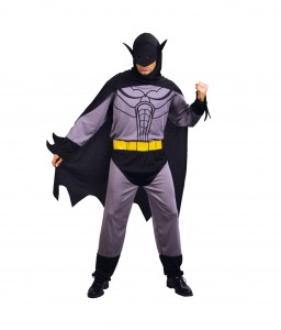 BAT HERO COSTUME MENS v2