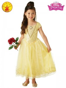BELLE LIVE ACTION DELUXE CHILD COSTUME CHILD