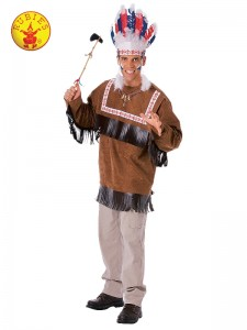 CHEROKEE WARRIOR COSTUME ADULT