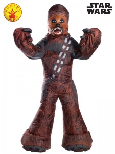 CHEWBACCA INFLATABLE COSTUME ADULT