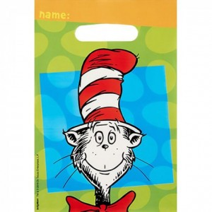 DR.SEUSS FOLDED LOOT BAGS