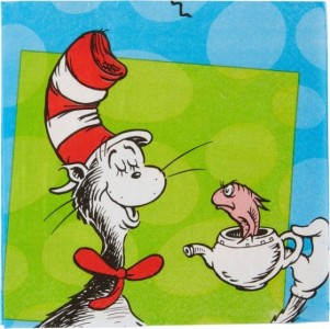 DR.SEUSS LUNCH NAPKINS