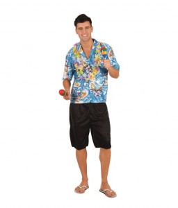 Hawaii guy costume