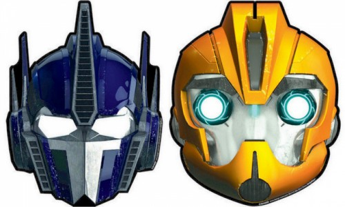 TRANSFORMERS CORE MASKS PAPER