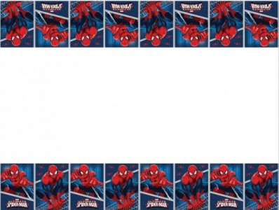 ULTIMATE SPIDER MAN TABLECOVER PLASTIC