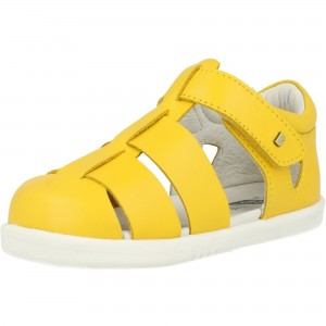 bobux i walk tidal yellow leather