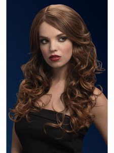 fever nicole wig light brown