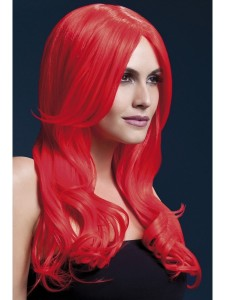 fever khloe wig neon red 2000x