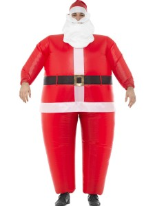 adult inflatable santa costume 48932